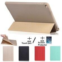 Material opaco Suave Sleep Despertador Holder Caso de La Cubierta Protectora para el ipad Mini 1 2 3 4 iPad 2 3 4
