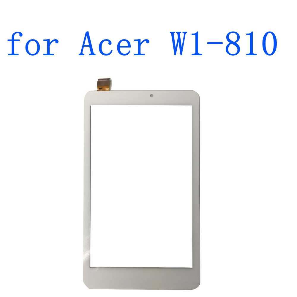 ALANGDUO for Acer Iconia Tab 8 W1-810 Touch Screen Digitizer Panel Front Replacement Glass Sensor Lens Tablet 10 1 for acer iconia tab a3 a10 a3 a11 tablet touch screen touch panel digitizer glass lens repair parts replacement free ship