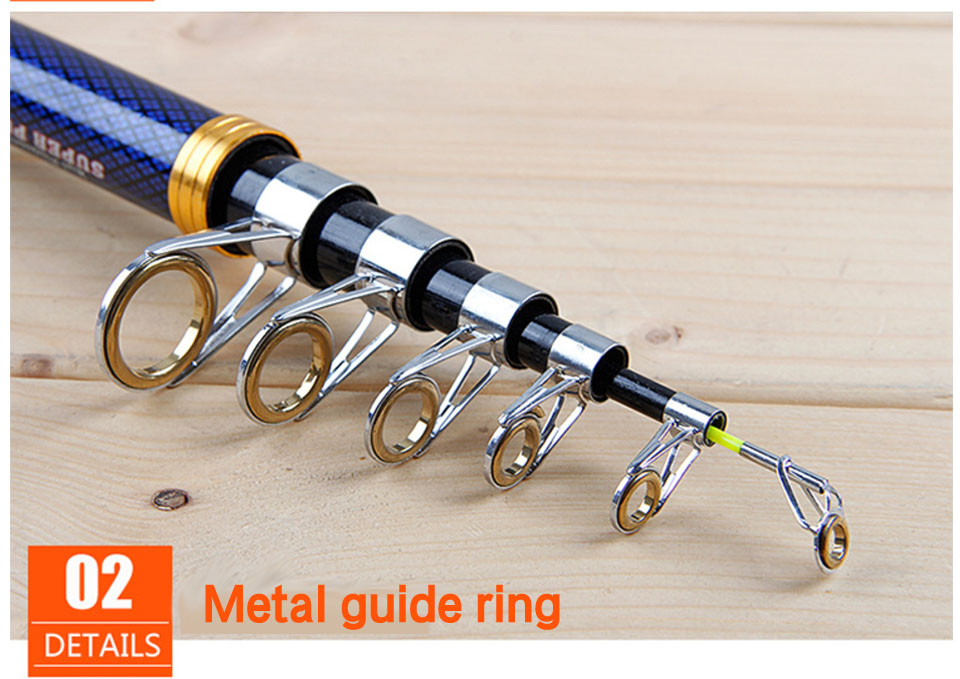 Image 3 - 2019 series carbon spinning fishing rod 2.1 3.6m hard short travel telescopic rod rock boat stick for seafishing bass carp pole-in Fishing Rods from Sports & Entertainment