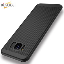 ФОТО kisscase breath case for samsung galaxy a5 2017 j5 2016 luxury thin cover for samsung galaxy s7 edge cases matte hard pc coque