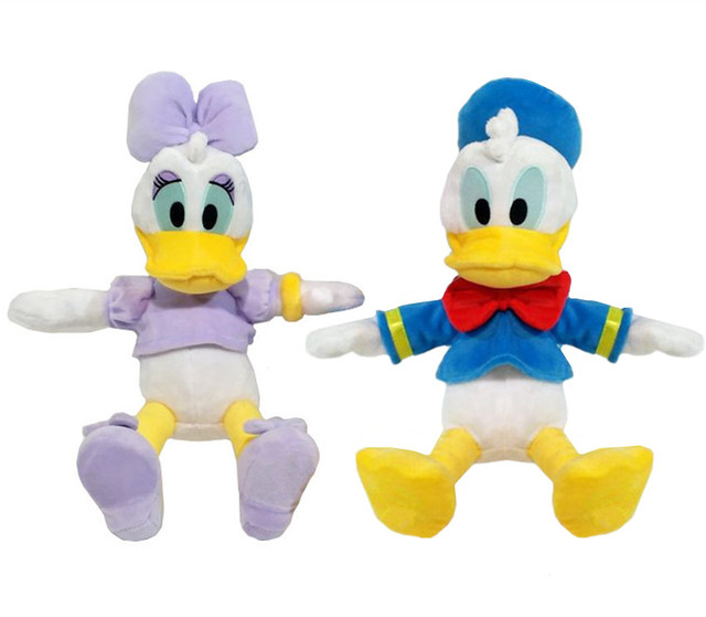 Set Of 2 Donald Duck And Daisy Duck Plush Toy Cute Stuffed Animals
