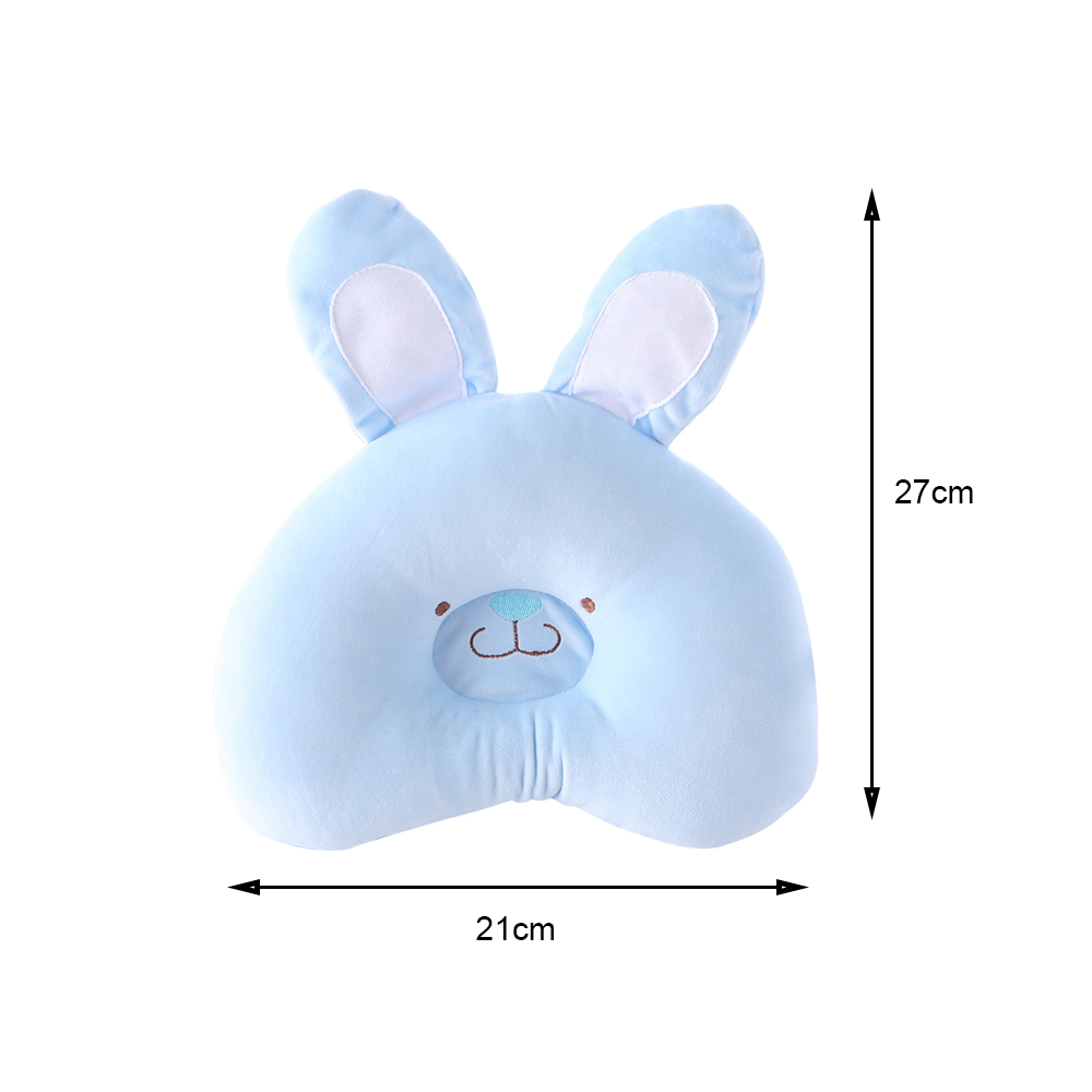 Cartoon Rabbit Newborn Baby Concave Shaping Pillow Infant Bedding Sleeping Head Protect Cushion Support Prevent Soft Pillows