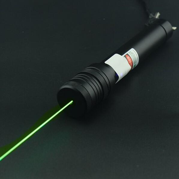 Green Laser Pointer 532nm High Powered Focus Burning Matches Lazer Pointer 304 Pen New Arrival wholesale LAZER