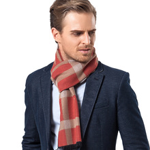 Autumn and Winter New Middle-aged Old Business Recreation Bar Lattice scarves