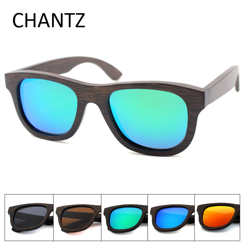 Retro Bamboo Sunglasses Women Men s Polarized Driving Wooden Sun Glasses Metal Spring Hinge Shades font