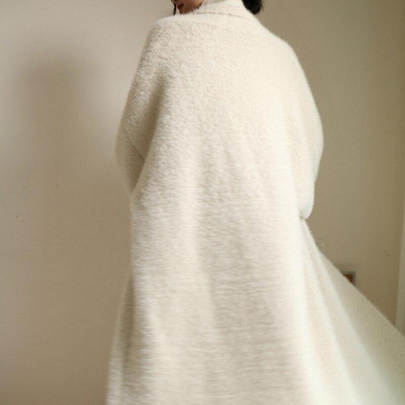 Cardigans De En Réel Pull Véritable Grande Chaud Long Taille Manteau X Fourrure 2019 Personnalisé Vison Pur Vrai Cachemire agYSxa