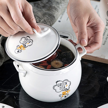 450ml vegetables style Porcelain tableware Tureen Kitchen Soup Cup Nest Dessert Slow Cooker Soup Stew Pot with Lids cutlery