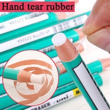 UNI Roll Paper Shredded Eraser Pencil Body Rubber Sketch Highlight Rubber Cute Erasers Gomme Borrachas Kawaii School Supplies