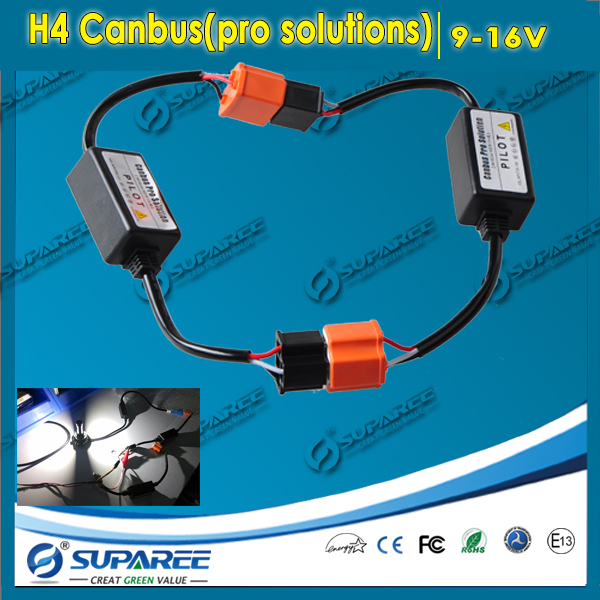 2pcs h4 h/l wiring harness controller h4 headlight flexible relay cable  wires h4 led canbus error free pro solutions accessories