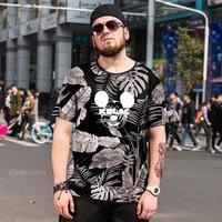 Large Size 6xl T Shirt 3D Cartoon Funny T Shirt Men Lovely Design Popular Mickey Tshirt