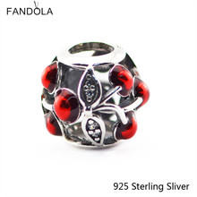 Buy pandora cherry charm and get free shipping on aliexpress ckk authentic 925 sterling silver jewelry sweet cherries sciox Images