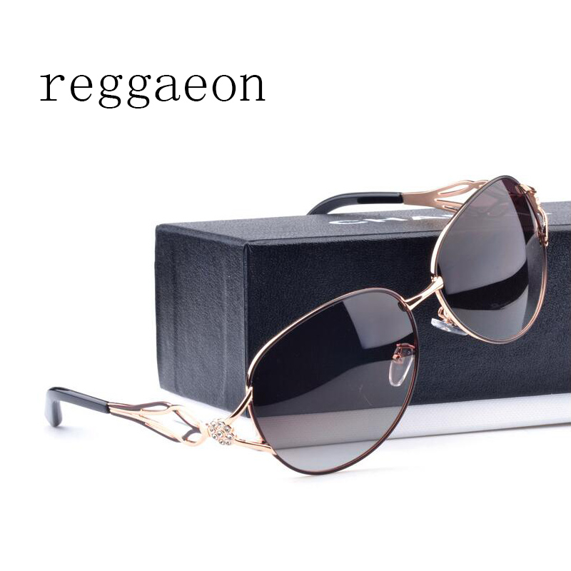 reggaeon Diamonds Legs Sunglasses Women Metal Frame Polarized Glasses Vintage Cable Eye Piece Colorful Stylish Sun Glasses