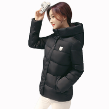 Hot sale ! 2016 New fashion Winter Coat Women's   Jacket Women with Fur Hooded for female