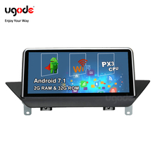 Ugode Android Car Multimedia System Video GPS Navigation Player for BMW X1 E84 CIC OS 7.1 support car camera information