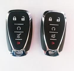 5 кнопок умный пульт дистанционного управления ключ чехол для Chevrolet Cruze Camaro Malibu XL брелок для ключей