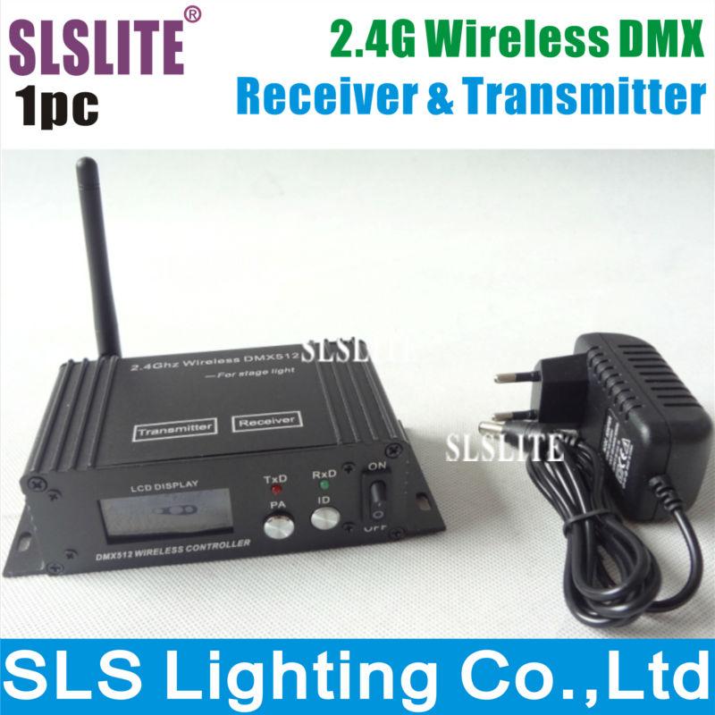1 PCS Stage Lights DMX controller 2.4G Wireless DMX Receiver & Transmitter Remote Controller 2 pcs lot transceiver dmx 512 control wireless transmitter