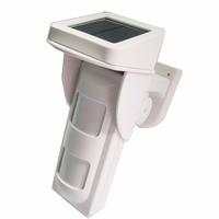 433mhz Solar power wireless outdoor/indoor motion detector sensor Alarm system solar power PIR motion sensor