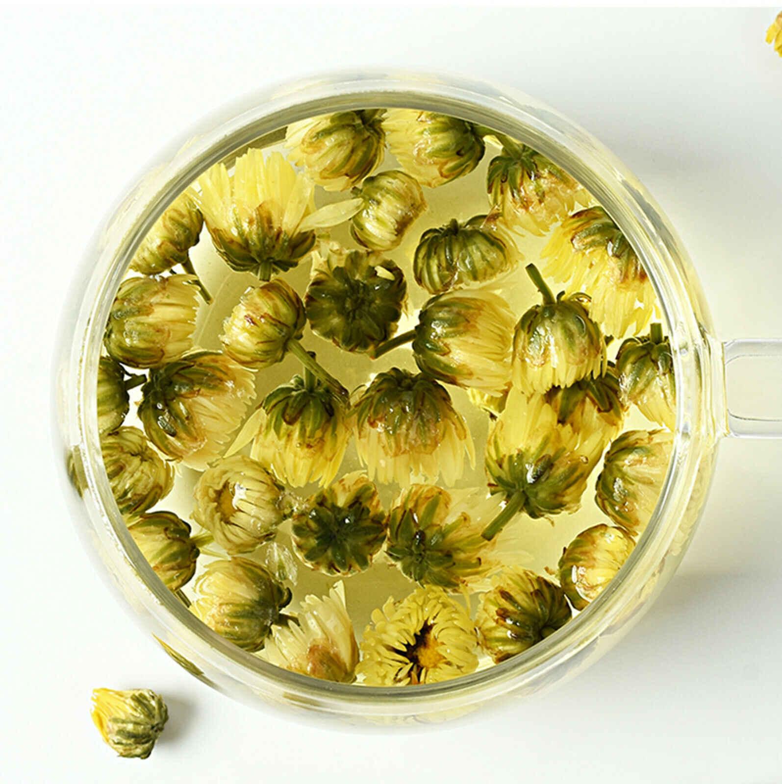 200g Chrysanthemum Flower Tea Organic Tea Loose Dried Blooming Herbal Tea Health