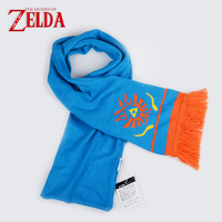 Cosplaydiy Game The Legend Of Zelda Hailar Warriors Blue Orange Scarf Women Men Unisex Halloween Carnival