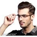 Высокое Качество Мужчины Элегантные Очки Титановые Миопия Очки Кадр Комфортное скольжению Моды Очки Кадр E004