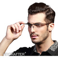 High Quality Men Elegant Eyewear Titanium Myopia Glasses Frame Comfortable Slip-resistant Fashion Eyeglasses Frame E004