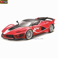 Bburago 1:18 Ferrari FXXK EVO car model 1 18 simulation alloy original Rafa sports car model super running car model gift