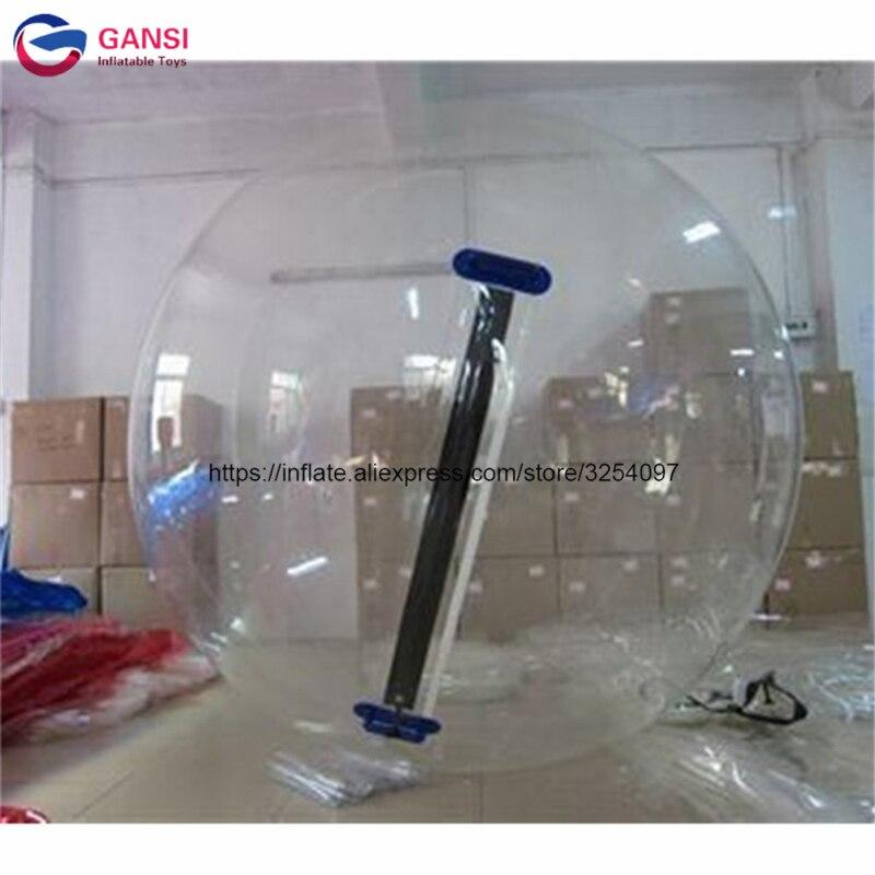 Promenade de 2m sur la boule gonflable transparente de l'eau, boule de marche gonflable de l'eau de PVC de 1.00mm pour la piscine