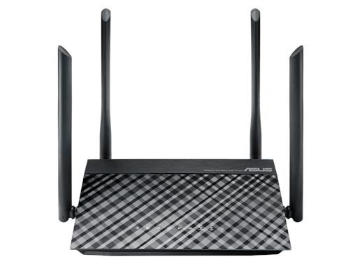 ASUS AC1200 Dual-Band Wi-Fi Router com quatro 5dBi antenas e Os Controles Dos Pais