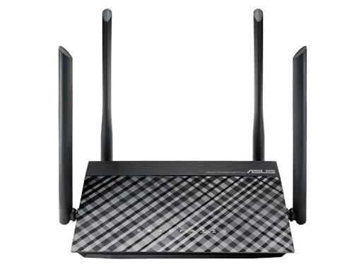 Routeur Wi-Fi double bande ASUS AC1200 avec quatre antennes 5dBi et commandes parentales