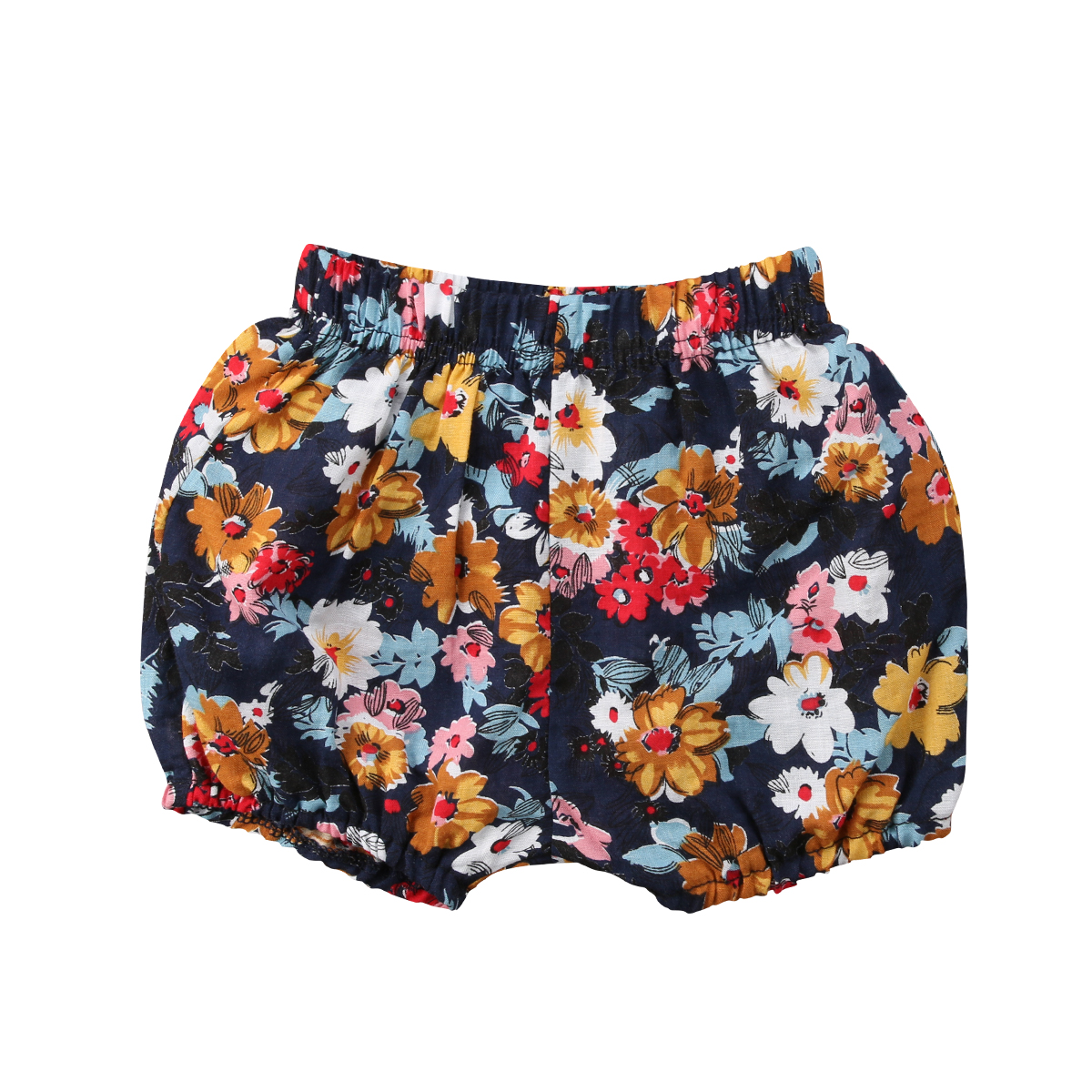 Baby Girl Lovely Floral Printed Short Pants Kid's Spring Summer Arrival Shorts Arrival Casual Cotton High Waist Shorts