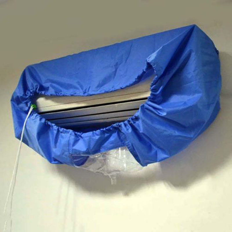 Brand New Air Conditioner Cleaning Dust Washing Cover Clean Waterproof Protector M Sizes