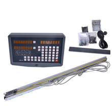 Cheapest prices 1set lathe / milling / drill / EDM / CNC machine 2 axis digital readout DRO and linear scale / linear sensor