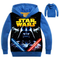 New Star Wars Boys Coat Spring Autumn Cartoon Hoodies Full Sleeve Casual Boy Sweatshirts Children Coats kids Clothing