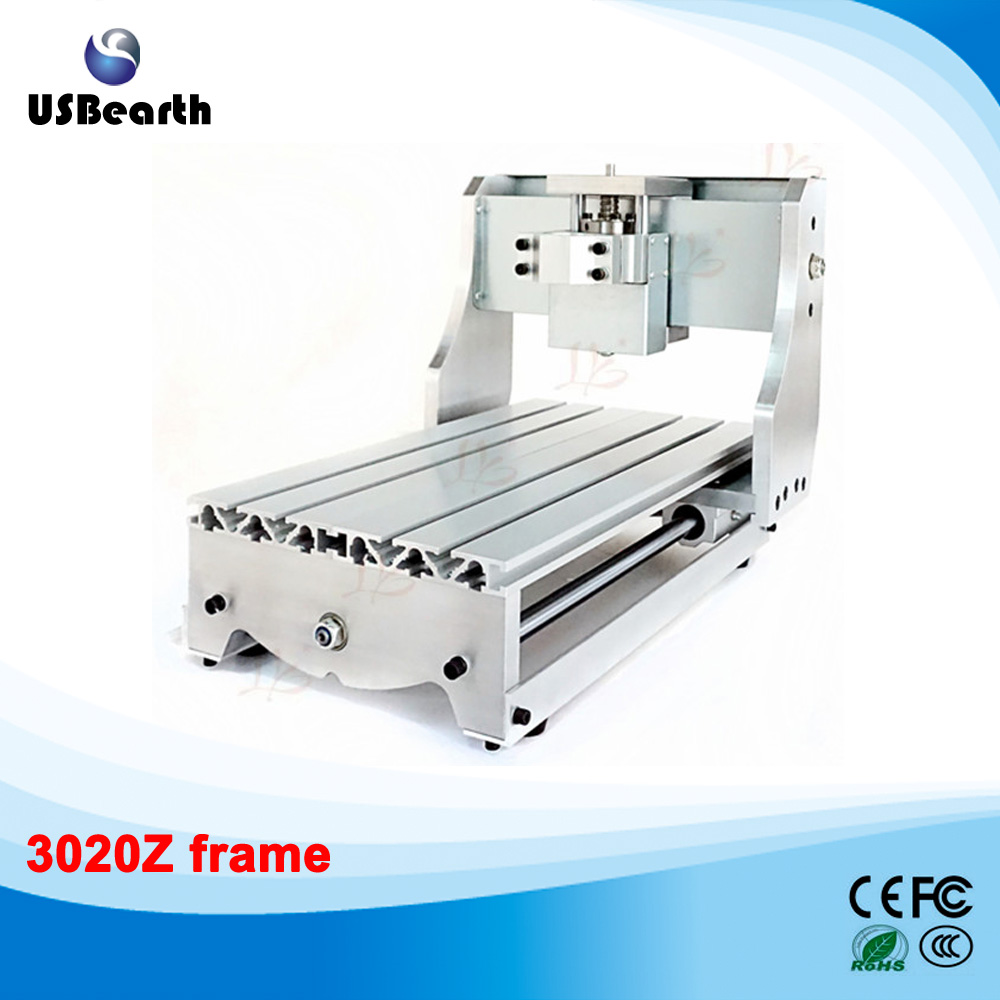 CNC 3020Z CNC frame of Engraving Drilling and Milling Machine For DIY CNC, No tax to Russia 3040zq usb 3axis cnc router machine with mach3 remote control engraving drilling and milling machine free tax to russia