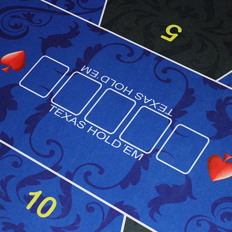 Livraison gratuite par EMS Poker nappe Texas poker nappe 4 options taille en 0.9*1.8 m adapté pour 10man - 3