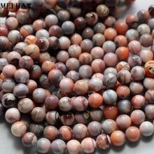 Опт (2 нити в комплекте), натуральный, 5,5 6 мм, изумительный, розовый, Ботсвана, Круглый, свободный, бисер для изготовления ювелирных украшений