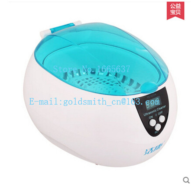 0.75L CE-5200A Mini Digital Jewelry Dental Ultrasonic Cleaner for Teeth Watch Jewelry Polishing and Cleaning ce 5200a professional digital ultrasonic jewelry