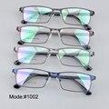 MX1002 Frim metal gafas eyeware con templos ultem miopía de los hombres gafas gafas graduadas gafas