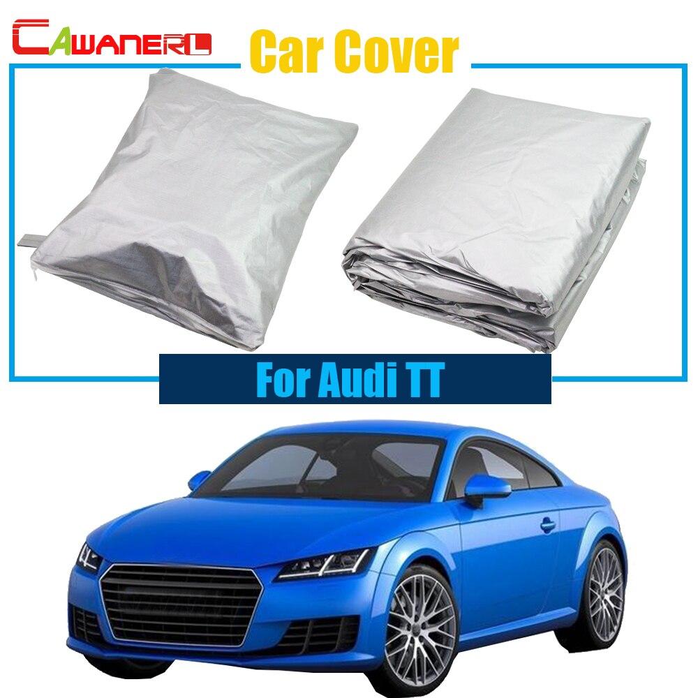 Cawanerl Sun-Shade-Accessories Full-Car-Cover Rain-Snow Sun-Resistant Audi Anti-Uv Dustproof