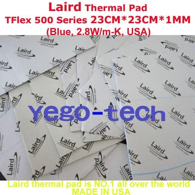 Новый Тепловая Кремния Pad Для DELL, лэрд Tflex Серии 500 23 СМ * 23 СМ * 1 ММ, сделано В США