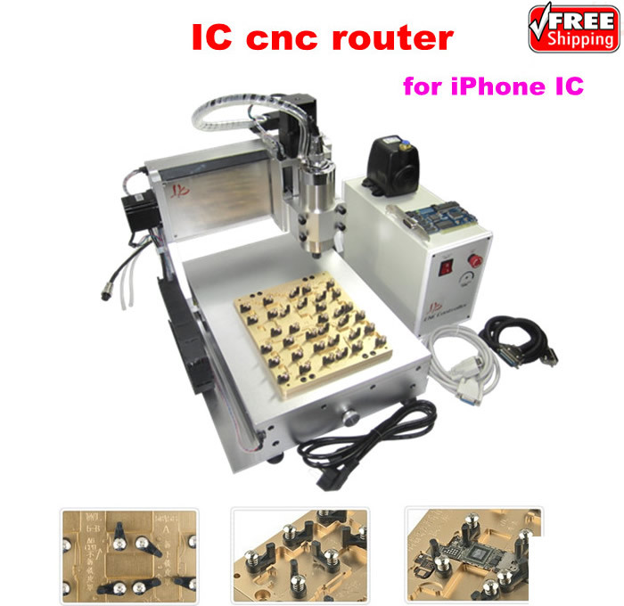 New combined LY 3020 IC CNC milling / polishing / engraving machine for mobilephone main board repair 1pc white or green polishing paste wax polishing compounds for high lustre finishing on steels hard metals durale quality
