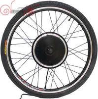 RisunMotor EBike 36V/48V 1200W 20inch 700c Front Motor Wheel 100mm Driving Brushless Gearless Hub Motor+Rim+Spokes+Tyre Wheel