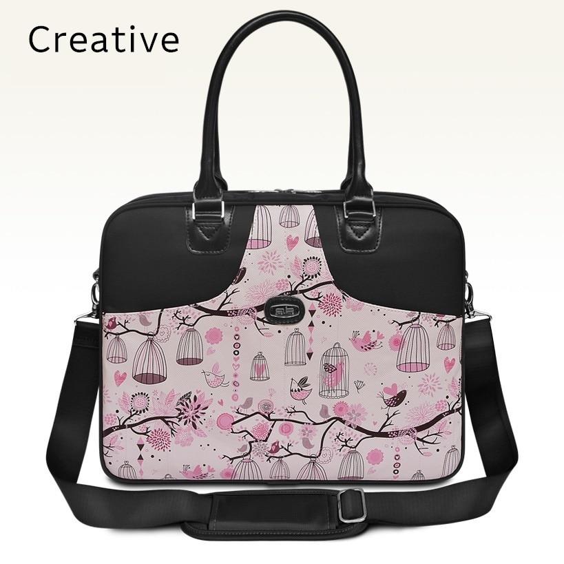 2018 Hot Handbag For Laptop 14, For Macbook Air Pro 13.3, 13,14.1 Lady Notebook Bag,Women Messenger, Free Drop Ship 0131S114
