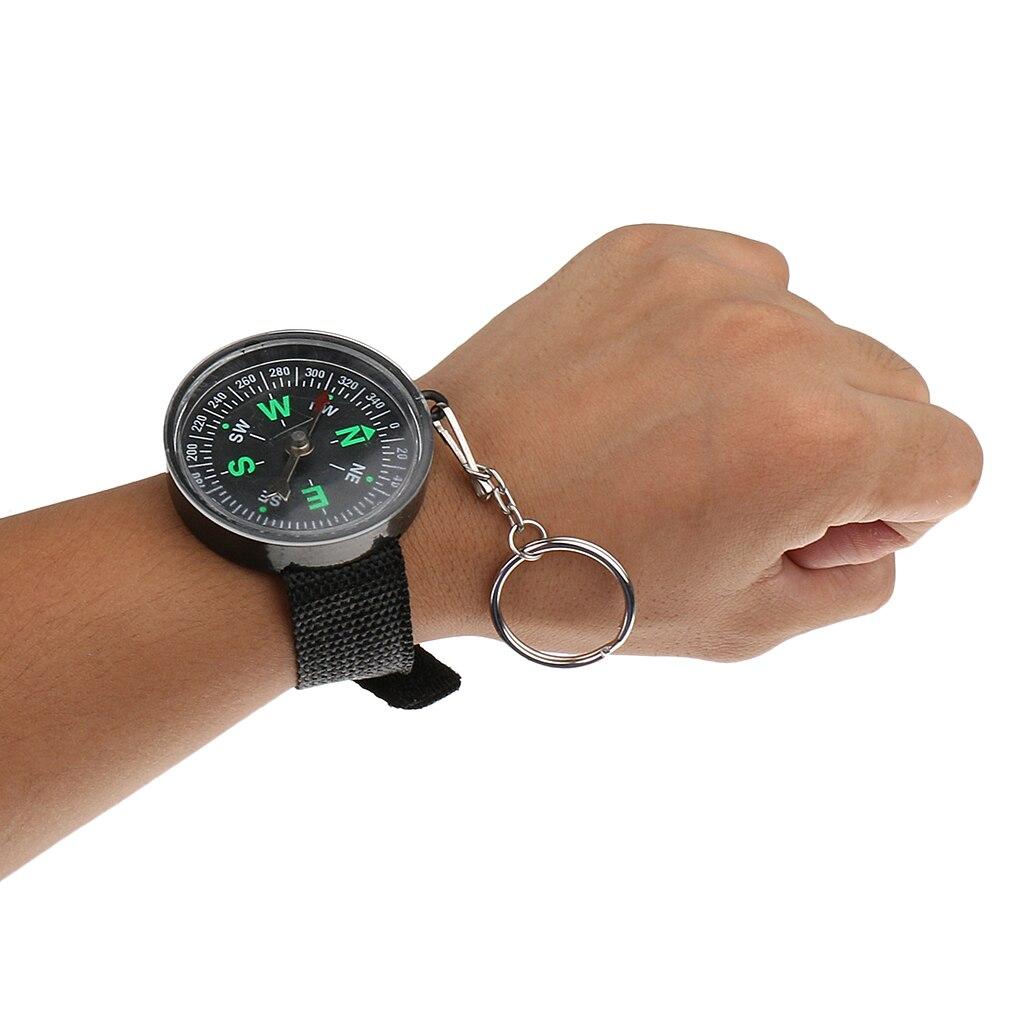 Открытый походный наручные Компас ударопрочный Тактический наручные часы ремень ремешок для часов для походов кемпинга лодки автомобиля в...