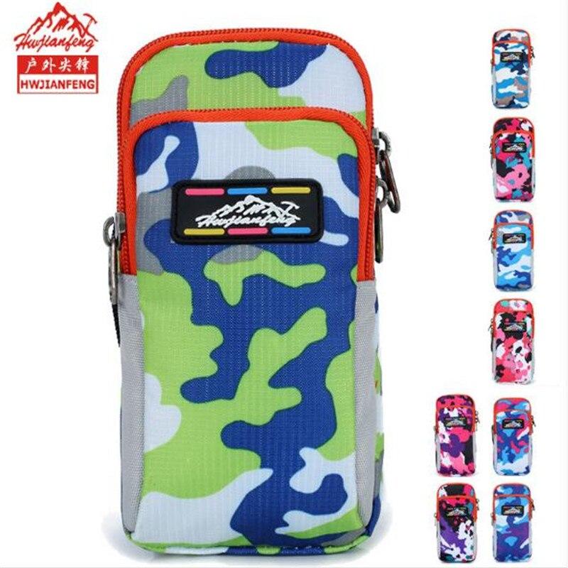 Running Bag Hwjianfeng B003 Nylon Sports For Mobile Phone Case Men Women Adjustable Wrist Arm
