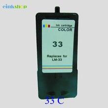 Einkshop Ink Cartridge For Lexmark 33 X3350 X5250 X5260 X5450 X5470 X7170 X8350 P4350 P6350 P915 Z810 Z815 Z816 Z818 Printer