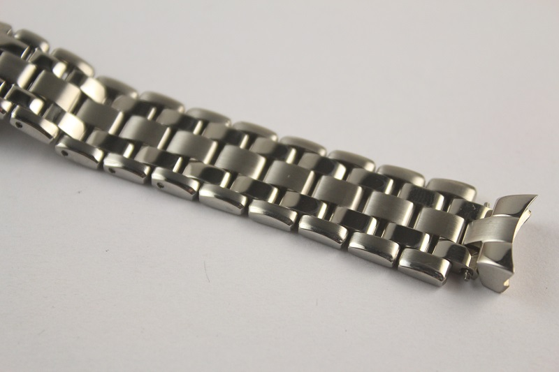 15mm T072207A NEW Pure Solid Stainless steel Watchband T072 Watch Strap Bracelets For T072 207