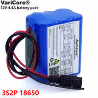VariCore 12v 4.4 Ah 4400mAh 18650 Rechargeable batteries 12V with BMS Lithium Battery pack Protection Board CCTV Cam Monitor UES