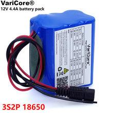 VariCore – batterie Lithium Rechargeable 12v, 4.4 Ah, 4400mAh, 18650, avec BMS, panneau de Protection, moniteur de caméra CCTV, ue