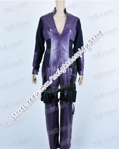 New Arrival Resident Evil Retribution Ada Wong Purple Jumpsuit Halloween Cosplay Costume